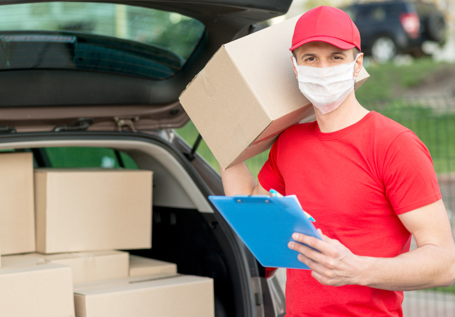 Delivery seguro: Dentro e fora do lar
