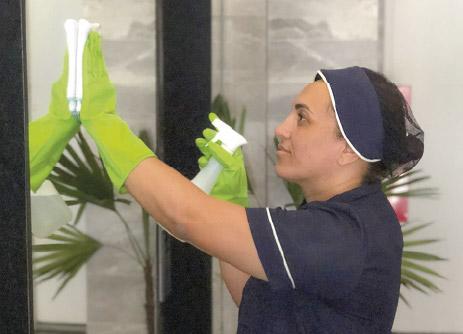 serviço terceirizado de higienização e conservação