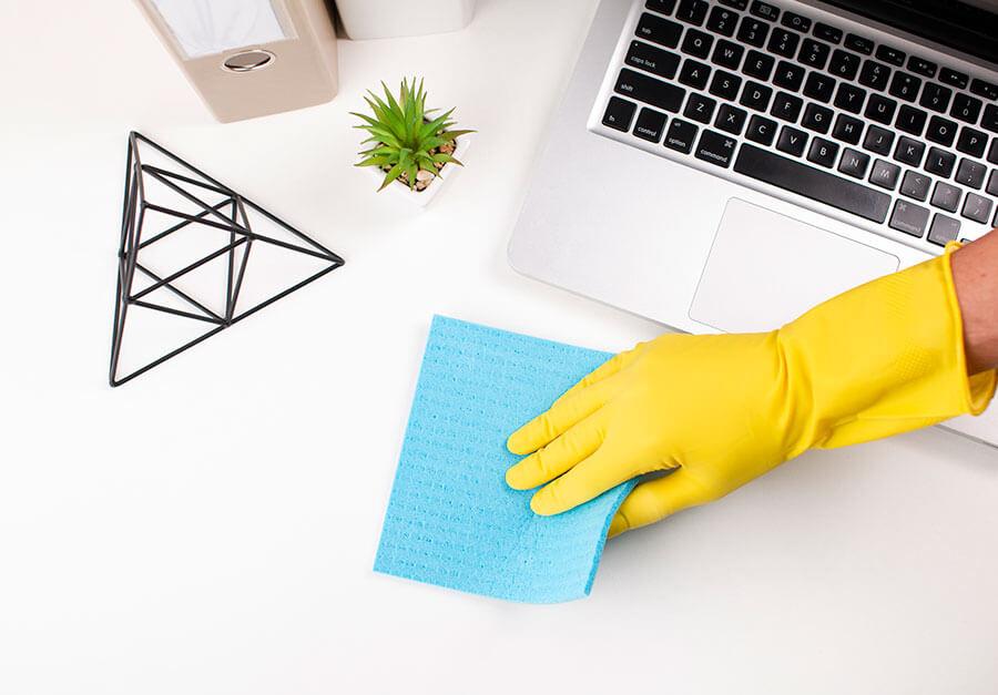 Foco na limpeza: escritórios longe do coronavírus