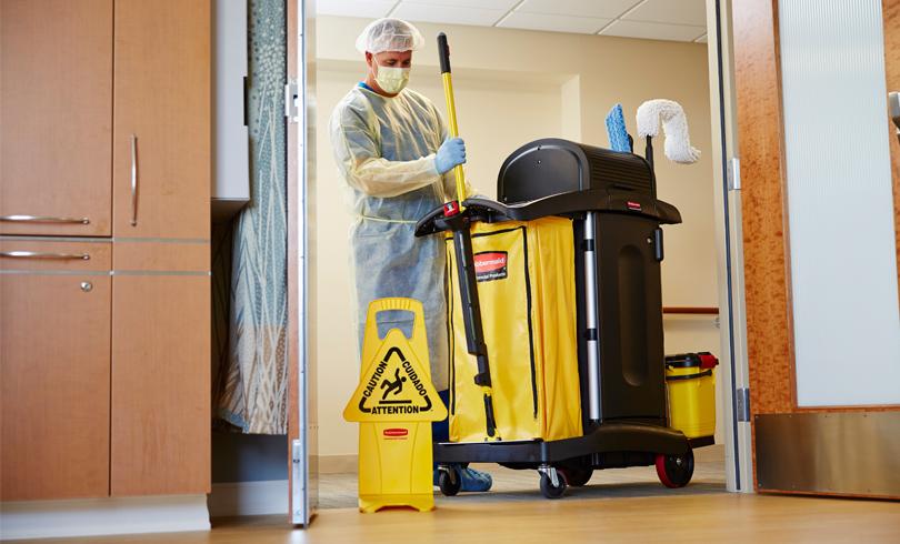 serviço de desinfecção e sanitização de ambientes